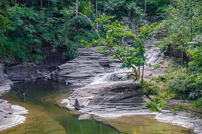 Photograph - Clarksburg Falls   7d06212 by Guy Whiteley