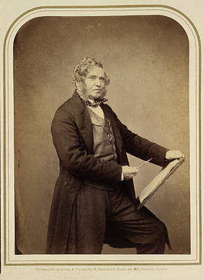 Painter Photograph - Clarkson Stanfield by British Library