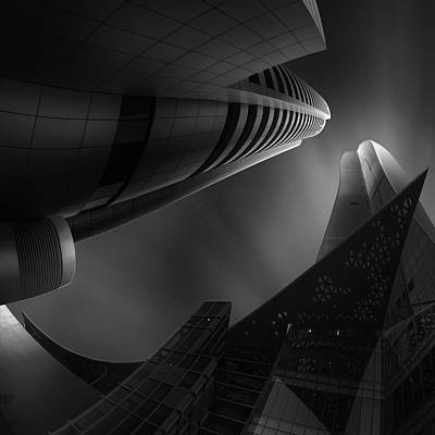 Shape Photograph - Clash Of The Titans by Ahmed Thabet