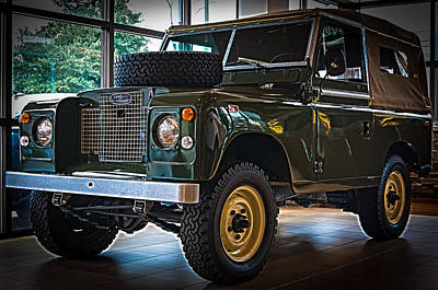 Photograph - Classic 1969 Land Rover Series IIa by E Karl Braun