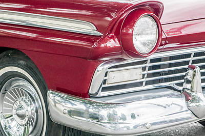 Print featuring the photograph Classic 50s Style by Dawn Romine