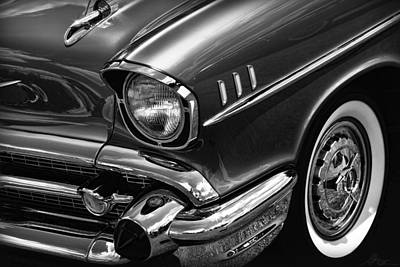 Chevy Photograph - Classic '57 Chevy by Gordon Dean II