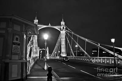 Lady Bug - Classic Albert Bridge by Marina Farr