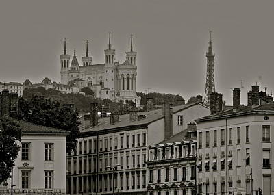 Photograph - Classic Architecture In Lyon France by Kirsten Giving