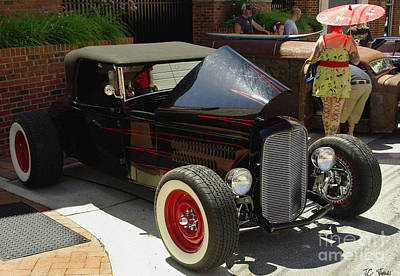 Photograph - Classic Auto Show by James C Thomas