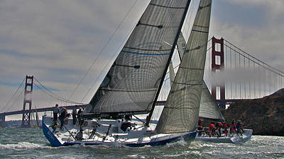 Sausalito Photograph - Classic Bay Yachting by Steven Lapkin