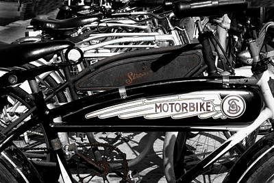 Photograph - Classic Bikes by Denise Dube