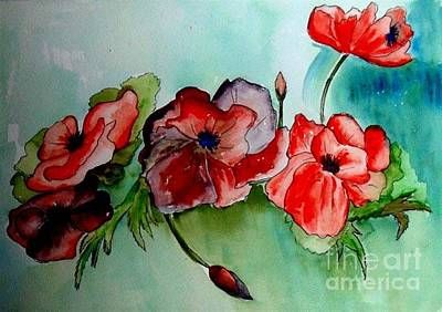 Painting - Classic Bouquet by Iris Gelbart