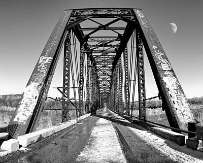 Photograph - Classic Bridge by Ricky Barnard