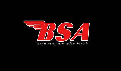 Classic Bsa Phone Case Art Print