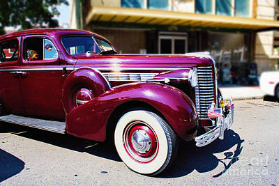 Photograph - Classic Buick by Ansel Price