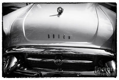 Buick Grill Photograph - Classic Buick by John Rizzuto