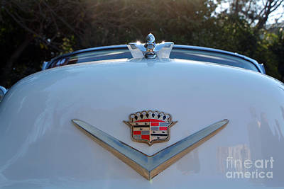Collectable Photograph - Classic Cadillac Badge by George Atsametakis