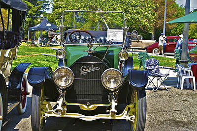 Photograph - Classic Car 12 by SC Heffner