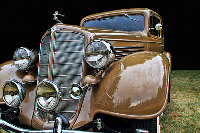 Photograph - Classic Car - 1935 Buick Victoria by Peggy Collins