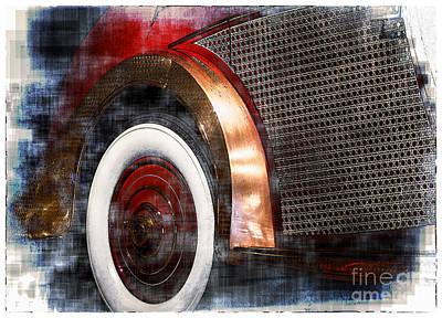 Digital Art - Classic Car  by Georgianne Giese