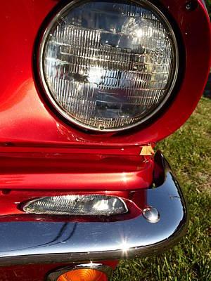 Grateful Dead - Classic car headlight by Karl Rose