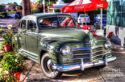 Art Print featuring the photograph Classic Car by Kevin Ashley