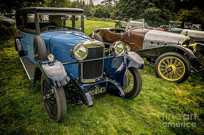 Blue Car Photograph - Classic Cars by Adrian Evans