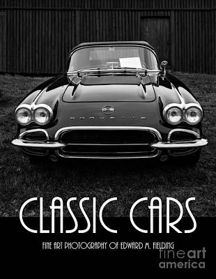 Classic Cars Front Cover Print by Edward Fielding