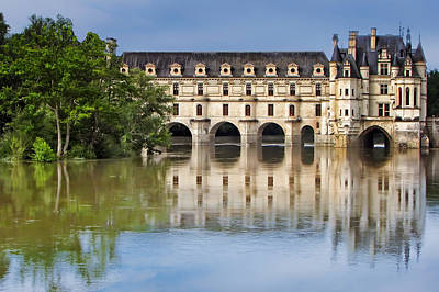 Photograph - Classic Chenonceau by Nikolyn McDonald