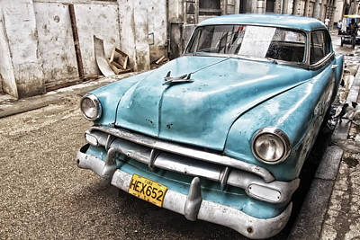Photograph - Classic Chevrolet Blue by Gigi Ebert