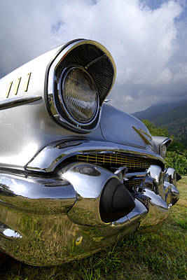 Shiney Photograph - Classic Chevrolet by Debra and Dave Vanderlaan