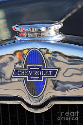 Badge Photograph - 1929 Chevrolet International 2ac by George Atsametakis