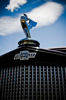 Classic Chevrolet Art Print by Phil 'motography' Clark