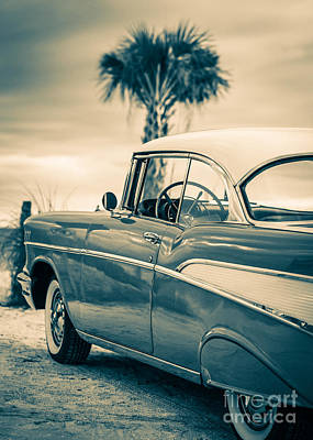 Classic Chevy Bel Air '57 Art Print