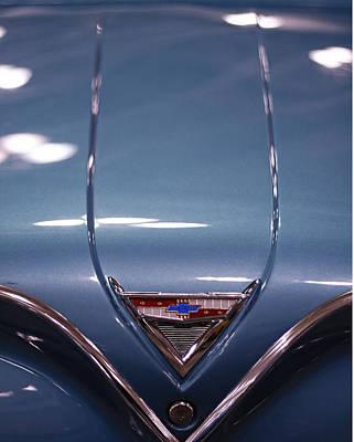 Photograph - Classic Chevy Impala Trunk by Kristia Adams