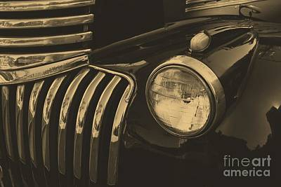 Art Print featuring the photograph Classic Chevy One by John S