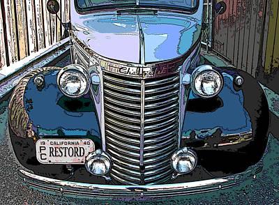 Classic Chevy Pickup 1 Art Print