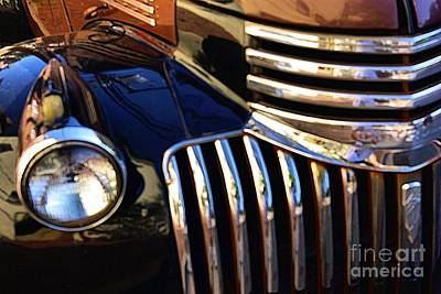 Art Print featuring the photograph Classic Chevy Two by John S