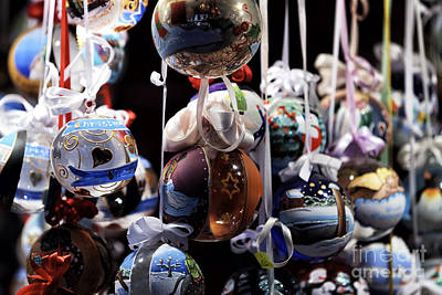 Photograph - Classic Christmas Ornaments by John Rizzuto