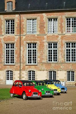 Antique Automobiles Photograph - Classic Citroen by Olivier Le Queinec