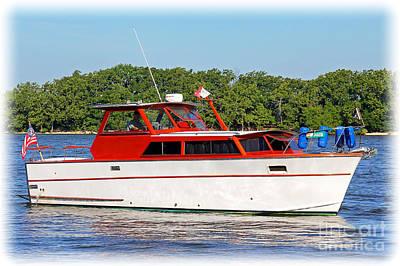 Cabin Cruisers Photograph - Classic Cruiser by Bob Hislop