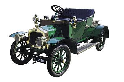 Antique Automobiles Digital Art - Classic De Dion Bouton Classic Car by Keith Webber Jr