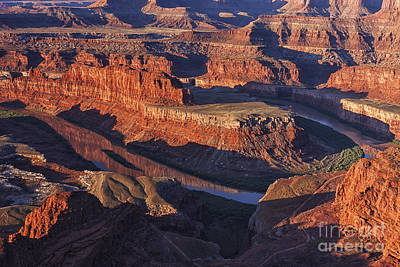 Classic Dead Horse Point Sunrise Print by Mark Kiver