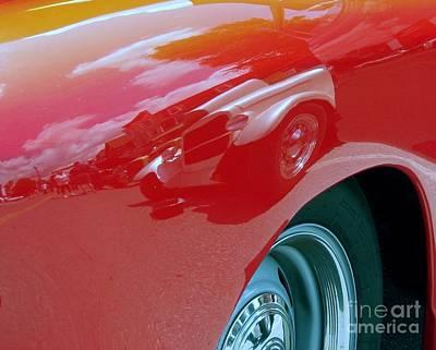 Photograph - Classic Fender by Donna Cavanaugh