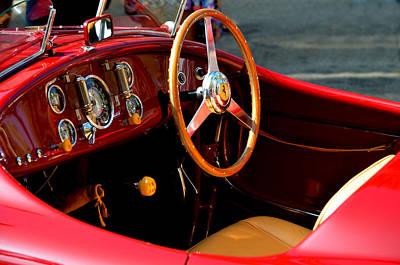 Photograph - Classic Ferrari by Deprise Brescia