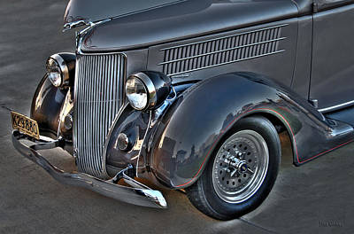 Photograph - Classic 1936 Ford by Dyle   Warren