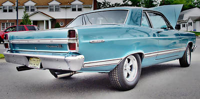 1967 Ford Fairlane 500 Photograph - Classic Ford Fairlane by Thomas  MacPherson Jr