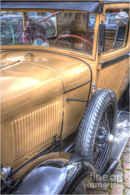 Classic Ford Of The 20th Art Print by Heiko Koehrer-Wagner
