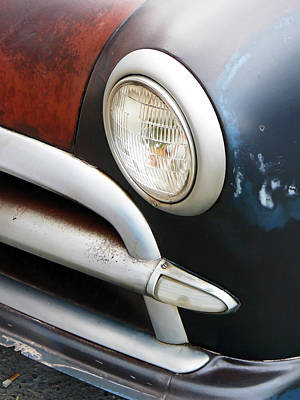 Classic Ford Project Car Print by Pamela Patch