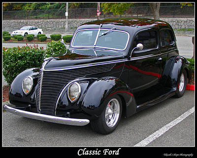 Photograph - Classic Ford by Tikvah's Hope