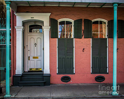 French Door Digital Art - Classic Front by Perry Webster