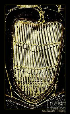Photograph - Classic Gold Grill by Bobbee Rickard