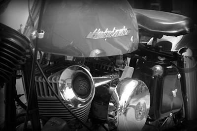 Photograph - Classic Harley Davidson by Kelly Hazel