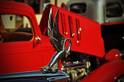 Photograph - Classic Hood Ornament  by Jeanne May